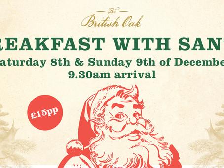 Breakfast with Santa returns