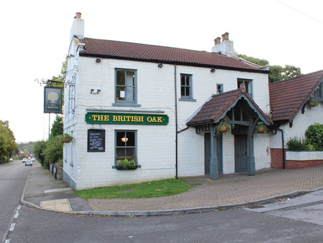 What's on at The British Oak
