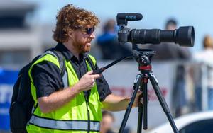 Motorsport videographer