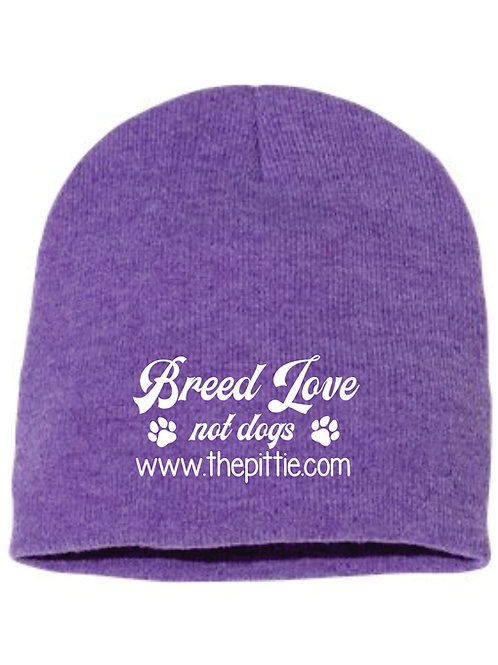 Sport Knitted Breed Love Not Dogs Beanies