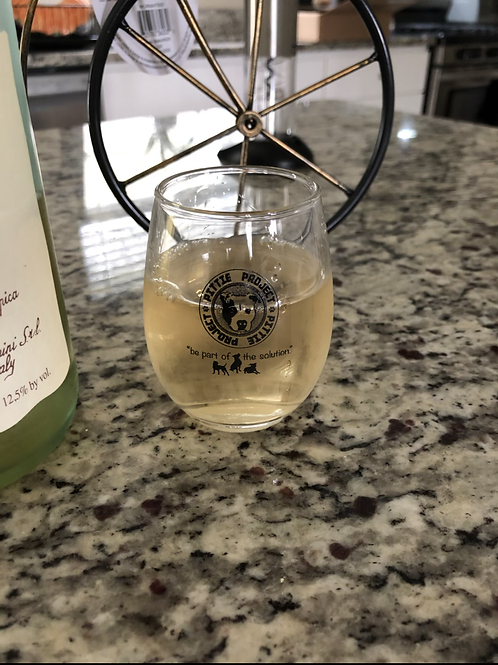 Pittie Project 5oz wine glasses.