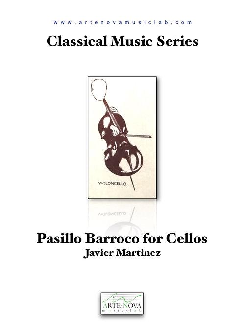Pasillo Barroco for Cellos.