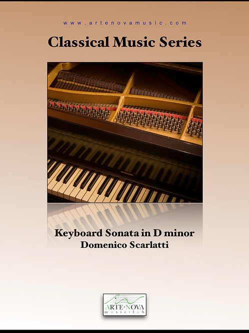 Keyboard Sonata in D minor.