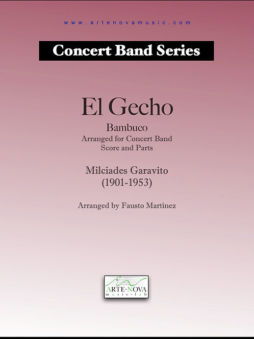 El Gecho. Bambuco for Concert Band.