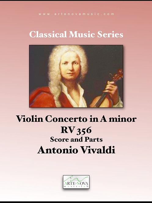 Violin Concerto in A minor RV 356