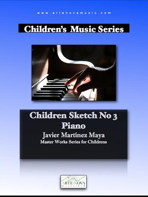 Children Sketch No. 3 for Piano.