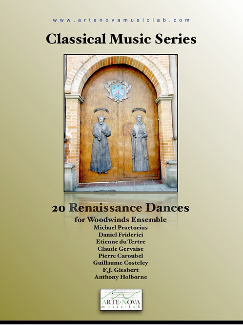 20 Renaissance Dances for Woodwinds Ensemble.