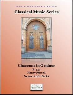Chaconne in G minor  Z. 730 for Strings.