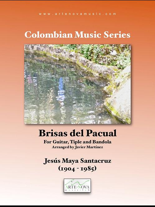 Brisas del Pacual. Bambuco for Bandola, Tiple and Guitar.