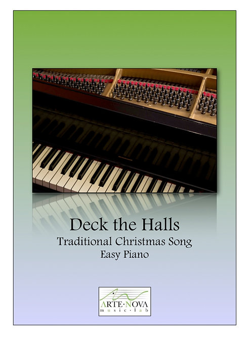 Deck the Halls for Easy Piano.