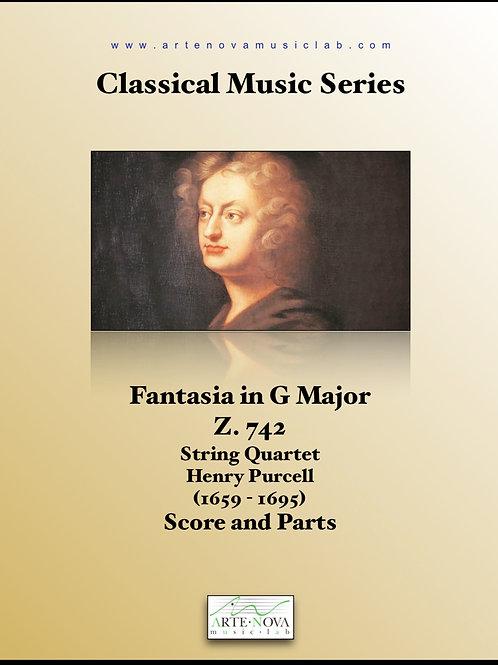 Fantasia in G Major Z. 742