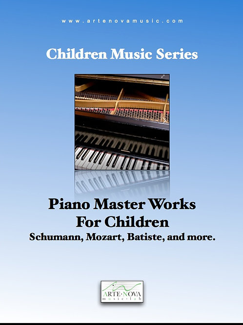 Piano master works for Children.