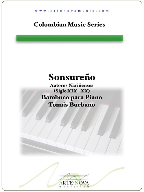 Sonsureño. Bambuco for Piano.