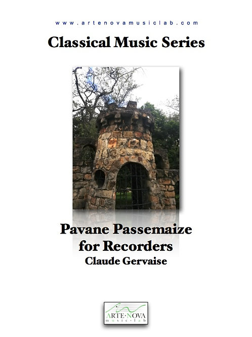 Pavane Passemaize for Recorders.