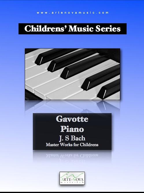 Gavotte for Piano.