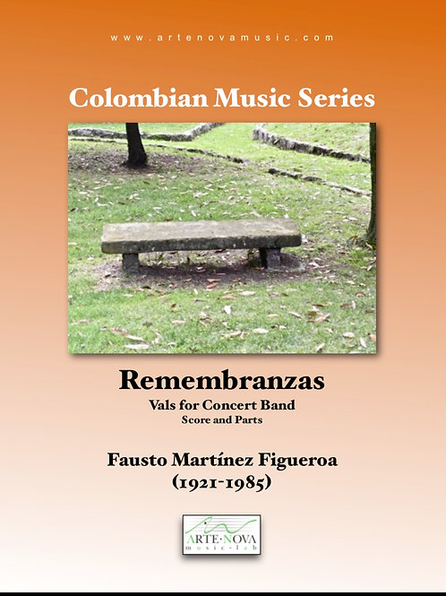 Remembranzas. Vals for Concert Band.