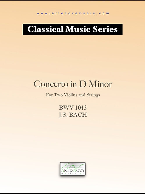 Concerto for Two Violins and Orchestra BWV 1043.