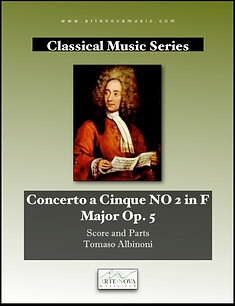 Concerto a Cinque NO 2 in F  Major Op. 5.