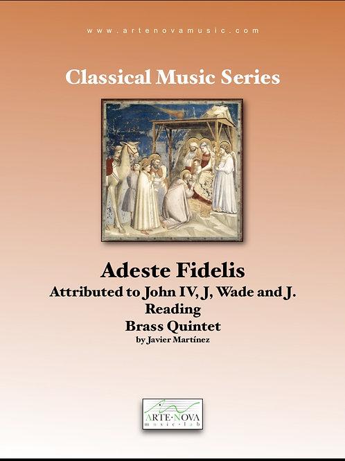 Adeste Fidelis for Brass Quintet.