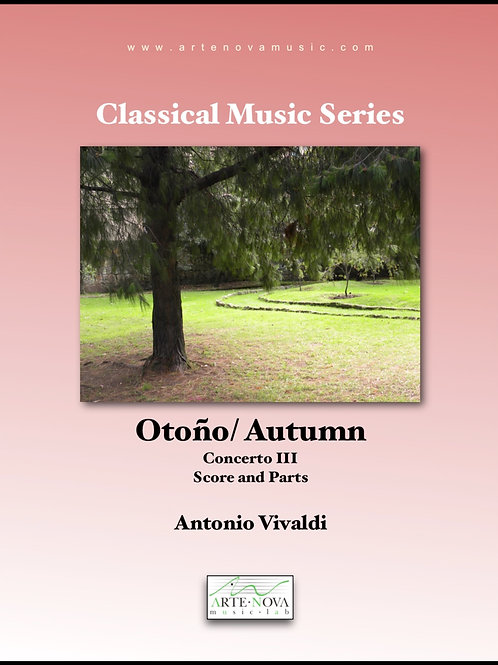 Otoño / Autumn. Concerto III (The Four Seasons)