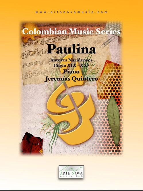Paulina. Pasillo for Piano.