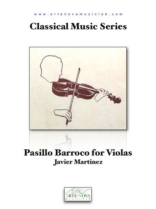 Pasillo Barroco for Viola Duet.