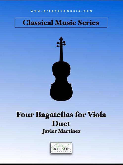 Four Bagatellas for Viola Duet.