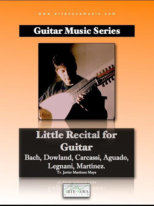 Little Recital for Guitar.