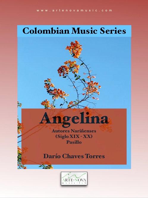 Angelina. Pasillo for Piano.