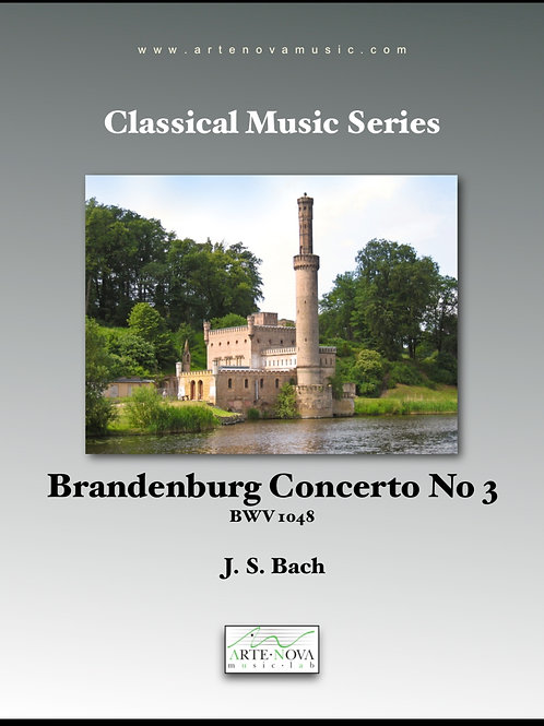 Brandenburg Concerto No 3  BWV 1048.