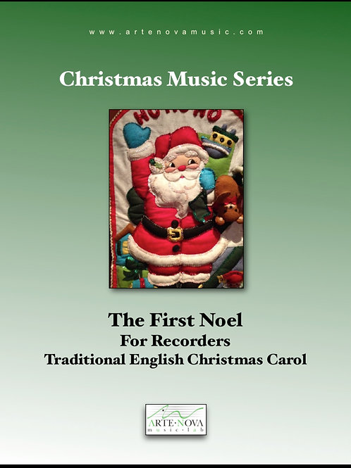 The First Noel for Recorders.