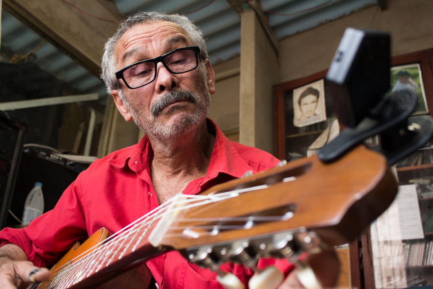 Retrato Guitarra