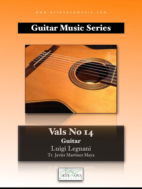 Vals No. 14 for Guitar.