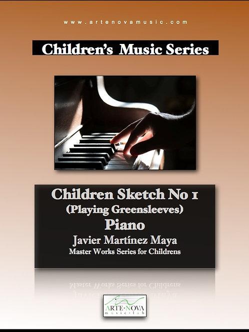 Children Sketch No. 1 for Piano.