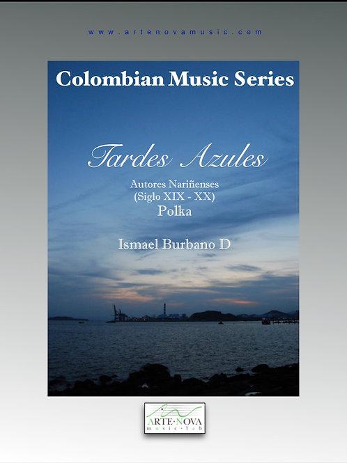 Tardes Azules. Pasillo for Piano.