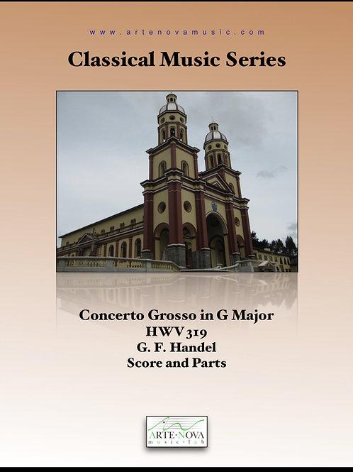 Concerto Grosso HWV 319