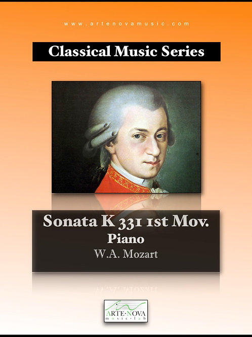 Sonata K 331 1st Mov. for Piano