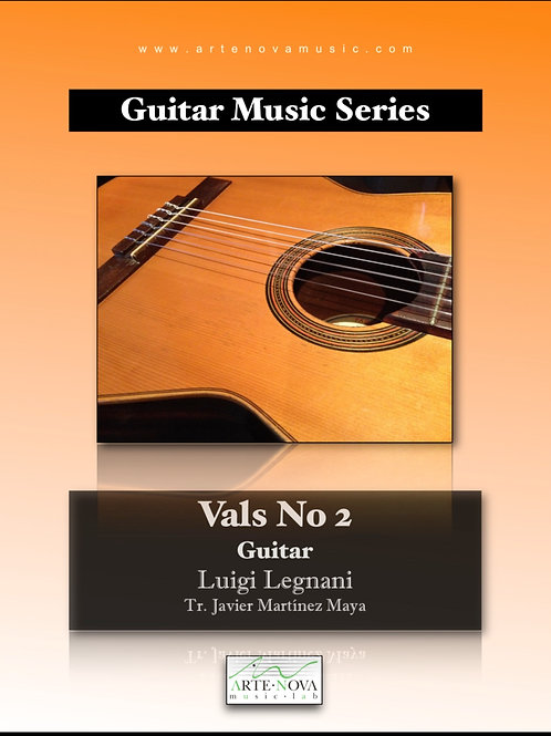 Vals No. 2 for Guitar.