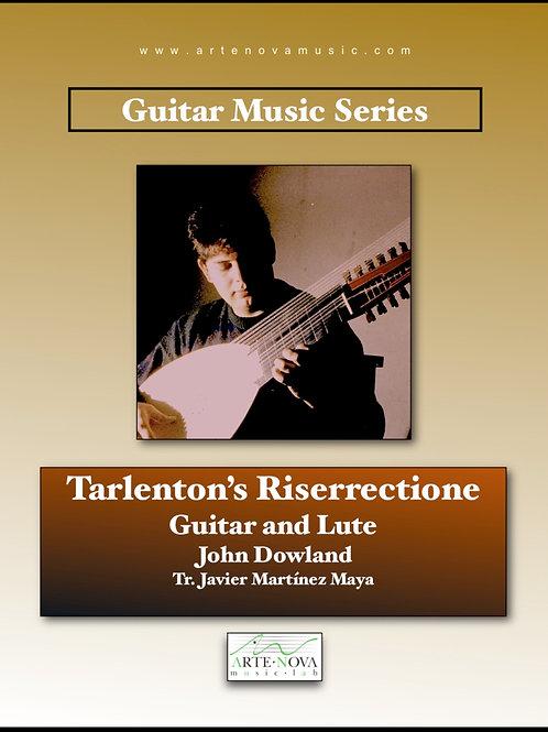 Tarlenton's Riserrectione for Guitar or Lute.