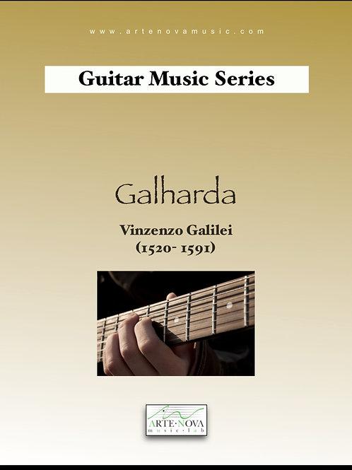 Galharda for Guitar.