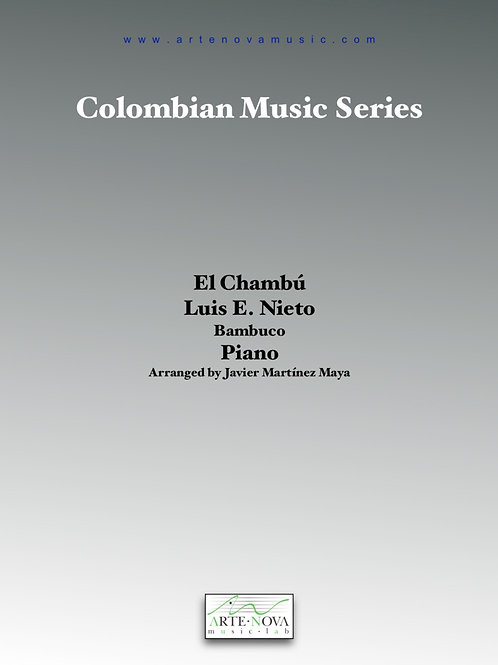El Chambú. Bambuco for Piano.