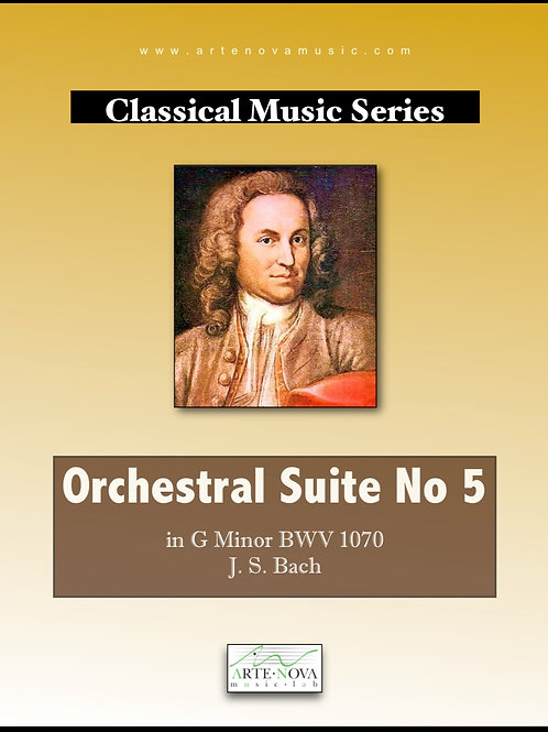 Orchestral Suite No. 5 in G minor BWV 1070