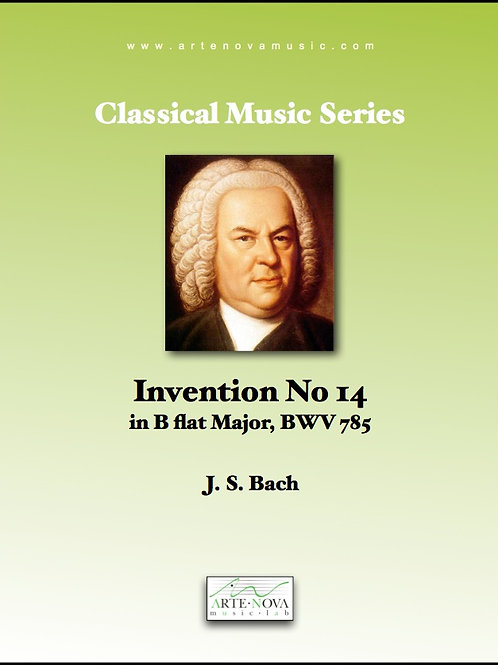 Invention No. 14 for Keyboard BWV 785.