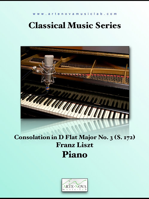 Consolation in D Flat Major No. 3 (S. 172).
