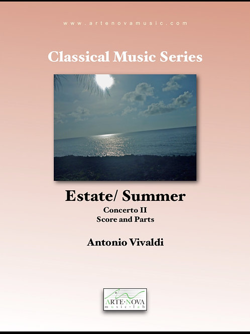 State / Summer. Concerto II (The Four Seasons)