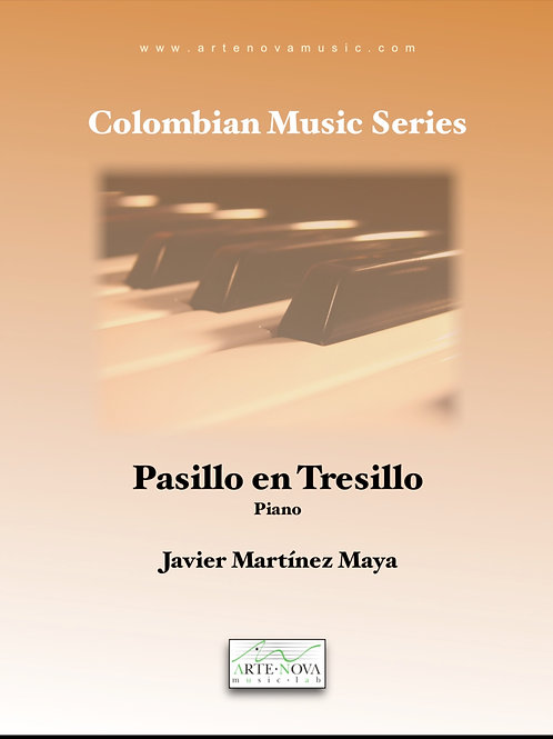 Pasillo en Tresillo. Pasillo for Piano.
