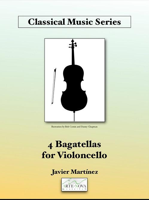 Four Bagatellas for Violoncello Duet.