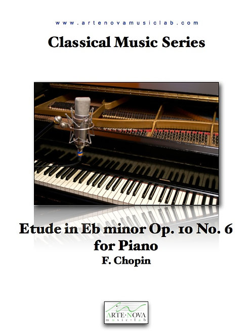 Etude in Eb minor Op. 10 No. 6 for Piano.