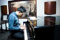 Clase presencial de Piano