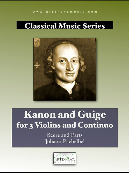 Kanon and Guige for Violins and Continuo.